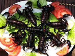 Caramelo de escorpión