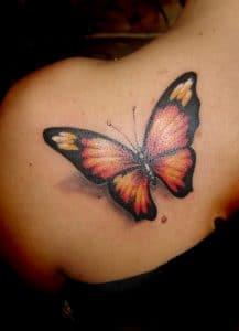 Tipos de mariposa para tatoo