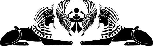 esfinge-egipcia-con-el-escarabajo-25993640